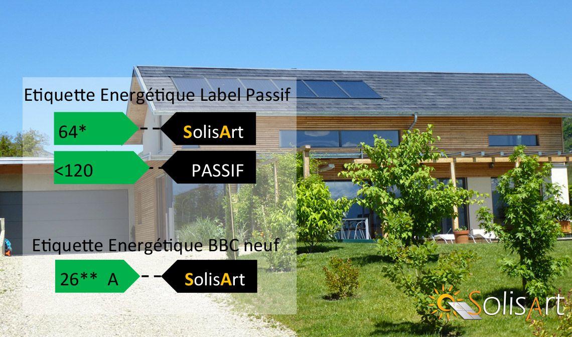 Chauffage solaire pour maison neuve