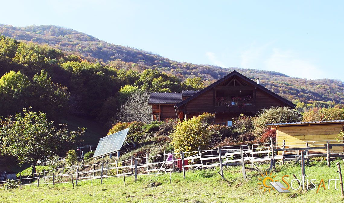 chauffage solaire Auvergne-Rhône-Alpes - Haute-Savoie - Moye
