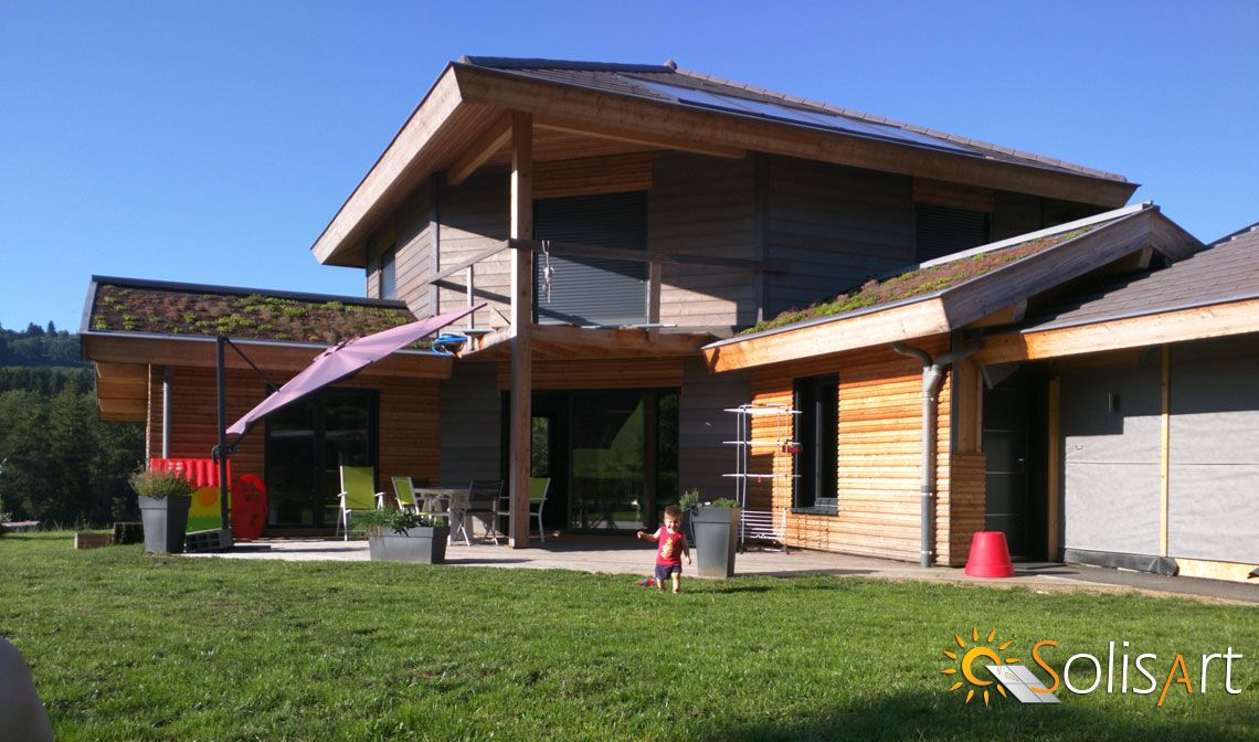 aviernoz maison chauffage solaire solisart