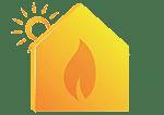 icone chauffage solaire