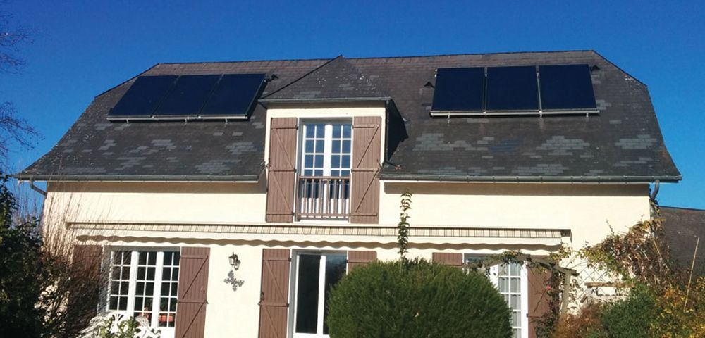 économie d'énergie chauffage et eau chaude solaire maison rénovation