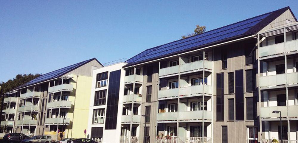 économie d'énergie chauffage et eau chaude solaire collectif BEPOS
