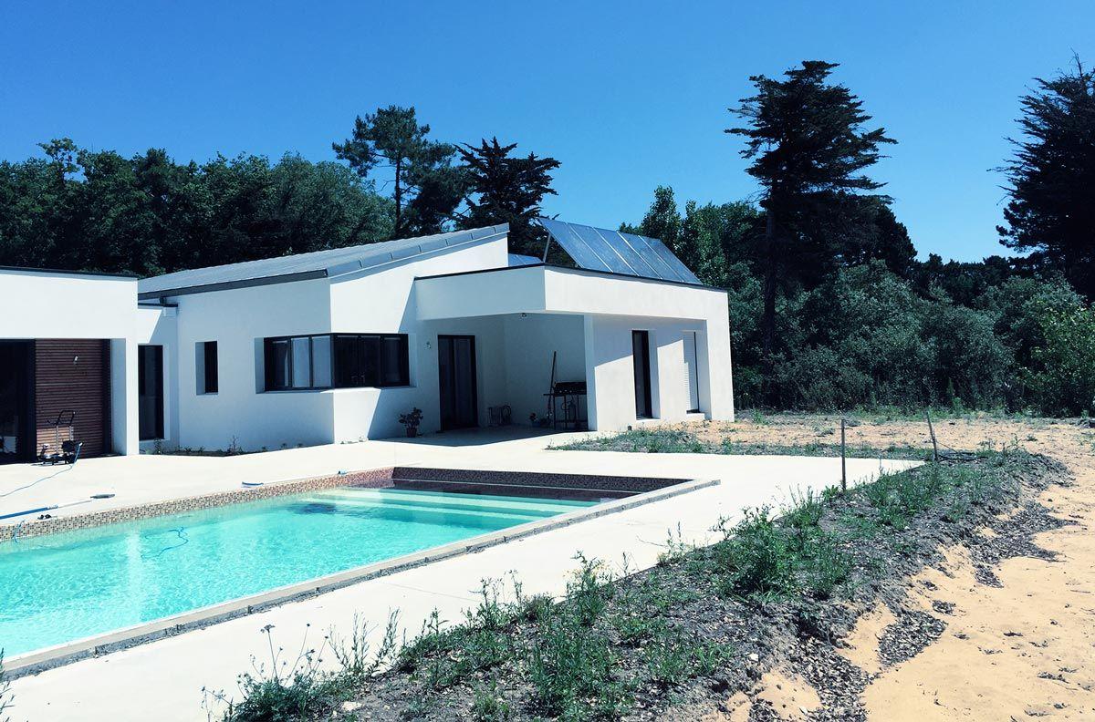 Panneau solaire thermique châssis-toit-terrasse