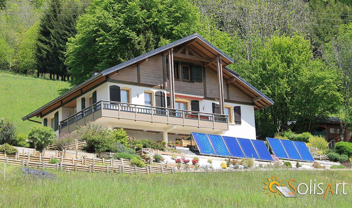 chauffage solaire Auvergne-Rhône-Alpes - Haute-Savoie - Mieussy