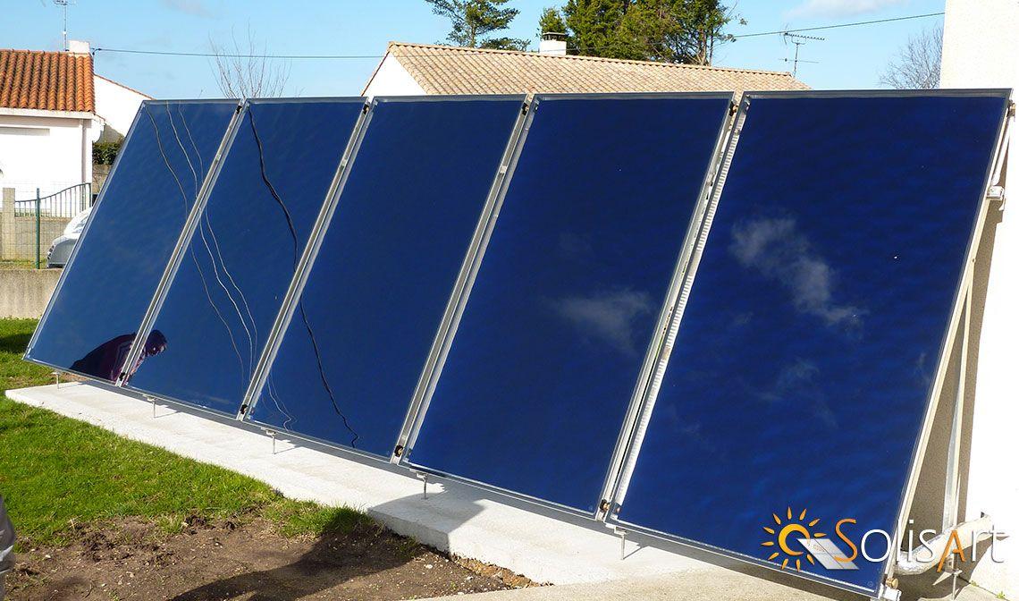 chauffage solaire Pays de la Loire - Loire-Atlantique - Vieillevigne