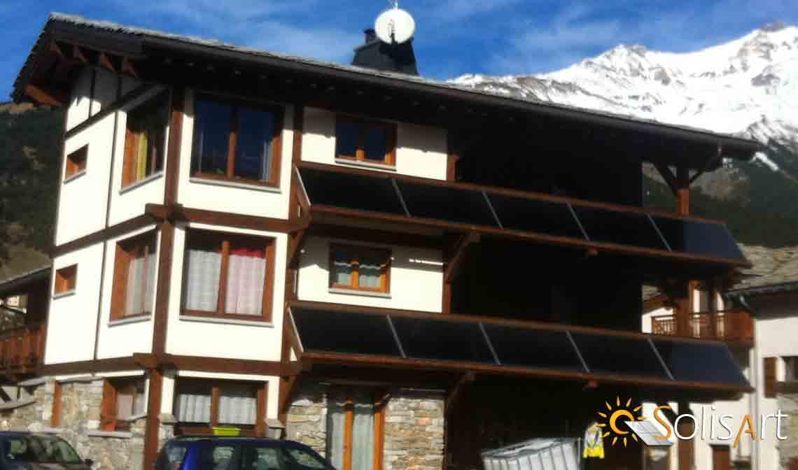 chauffage solaire Auvergne-Rhône-Alpes - Savoie - Aussois