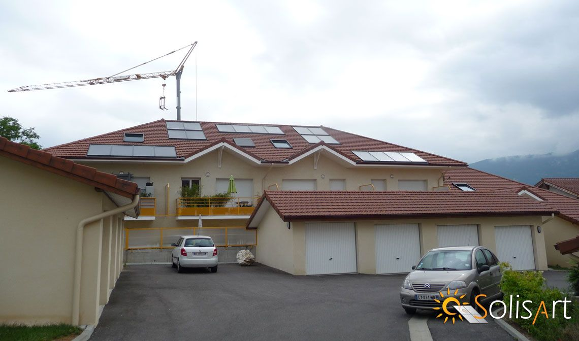 chauffage solaire Auvergne-Rhône-Alpes - Isère - Moirans