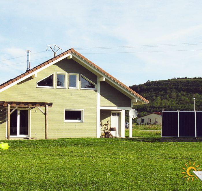 chauffage solaire Bourgogne-Franche-Comté - Jura - Charézier