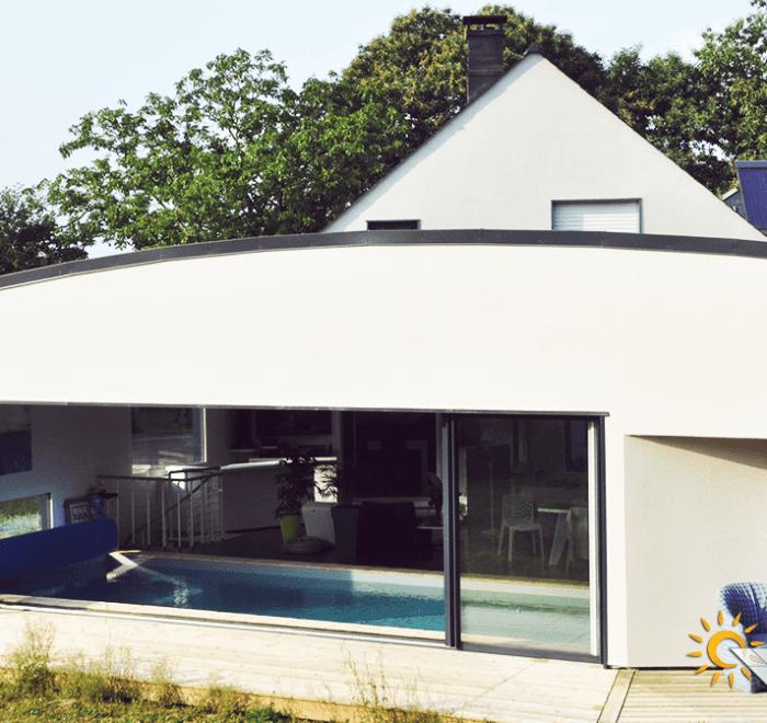 chauffage solaire Bretagne - Ile et Vilaine - Saint Erblon