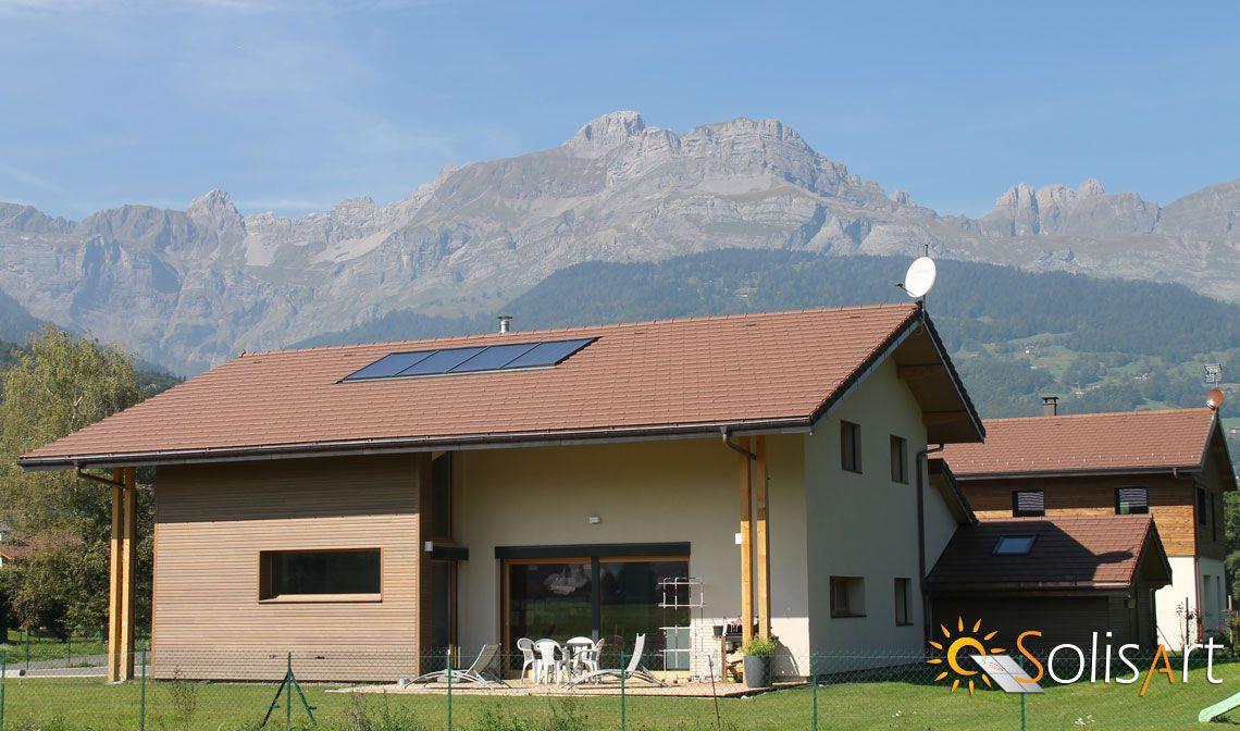 chauffage solaire Auvergne-Rhône-Alpes - Haute-Savoie - Sallanches