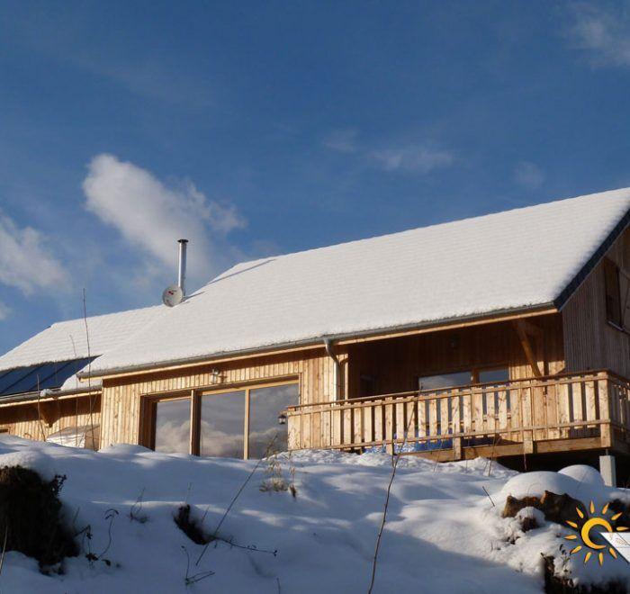chauffage solaire Auvergne-Rhône-Alpes - Ain - Champagne-en-Valromey