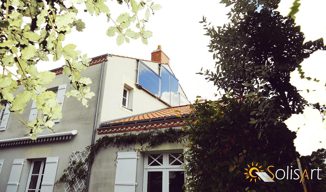 chauffage solaire Pays de la Loire - Loire-Atlantique - Machecoul
