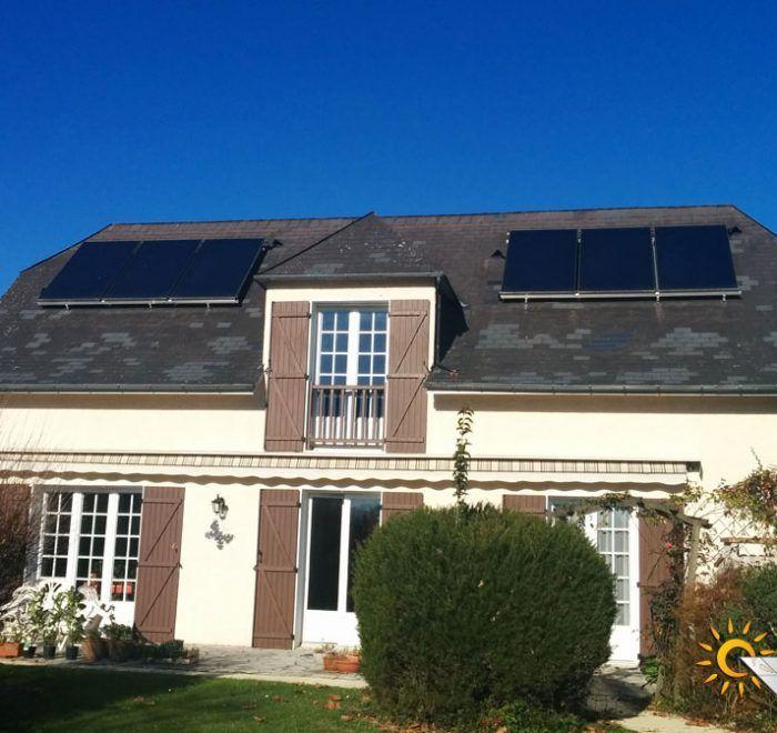 chauffage solaire Nouvelle-Aquitaine - Pyrénées-Atlantique - Oloron-Sainte-Marie