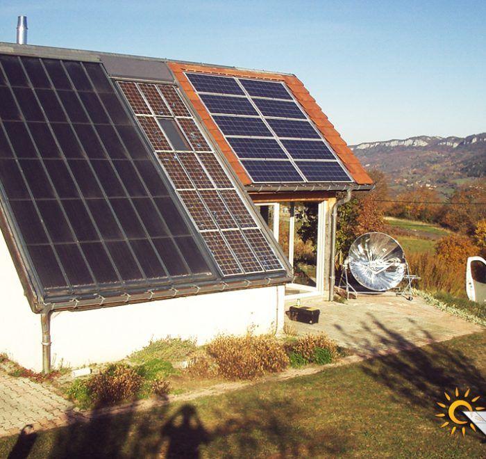 chauffage solaire Bourgogne-Franche-Comté - Jura - Rogna