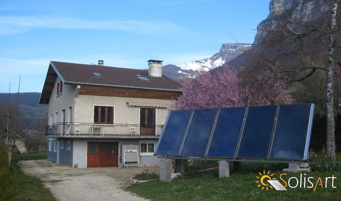chauffage solaire Auvergne-Rhône-Alpes - Savoie - Saint-Jean d'Arvey