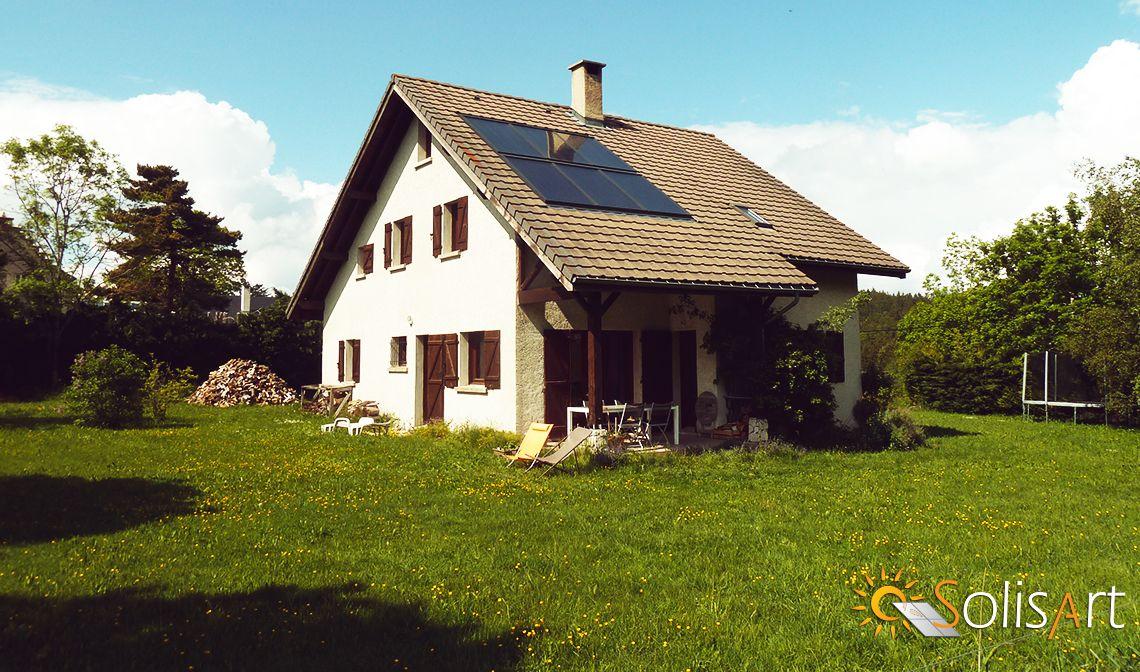 chauffage solaire Auvergne-Rhône-Alpes - Isère - Saint Nizier du Moucherotte