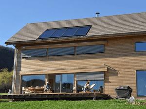 chauffage solaire Auvergne-Rhône-Alpes - Isère - Sinard