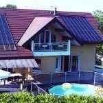 chauffage solaire Auvergne-Rhône-Alpes - Savoie - Albens