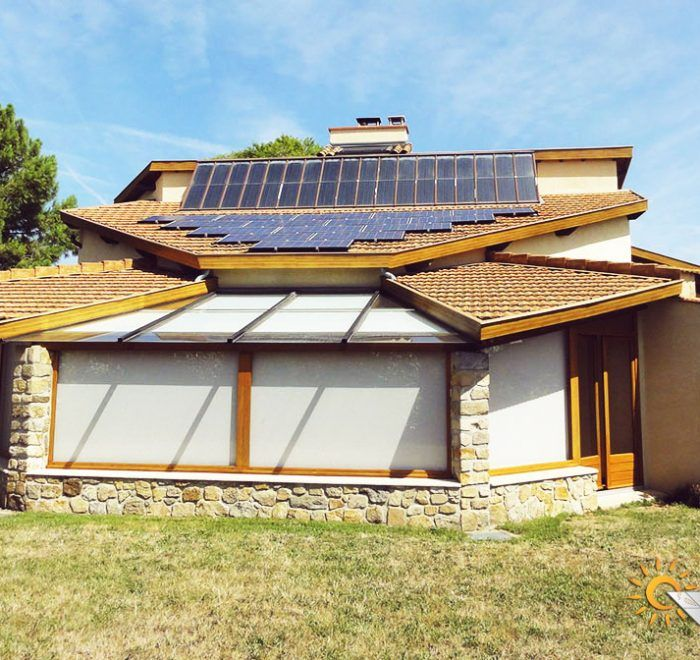 chauffage solaire Auvergne-Rhône-Alpes - Ardèche - Davézieux