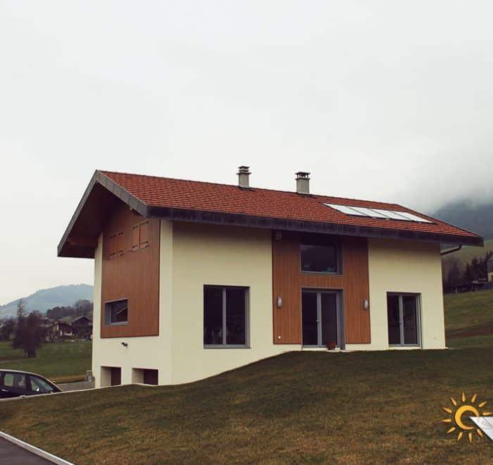chauffage solaire Auvergne-Rhône-Alpes - Haute-Savoie - Villard-sur-Boëges