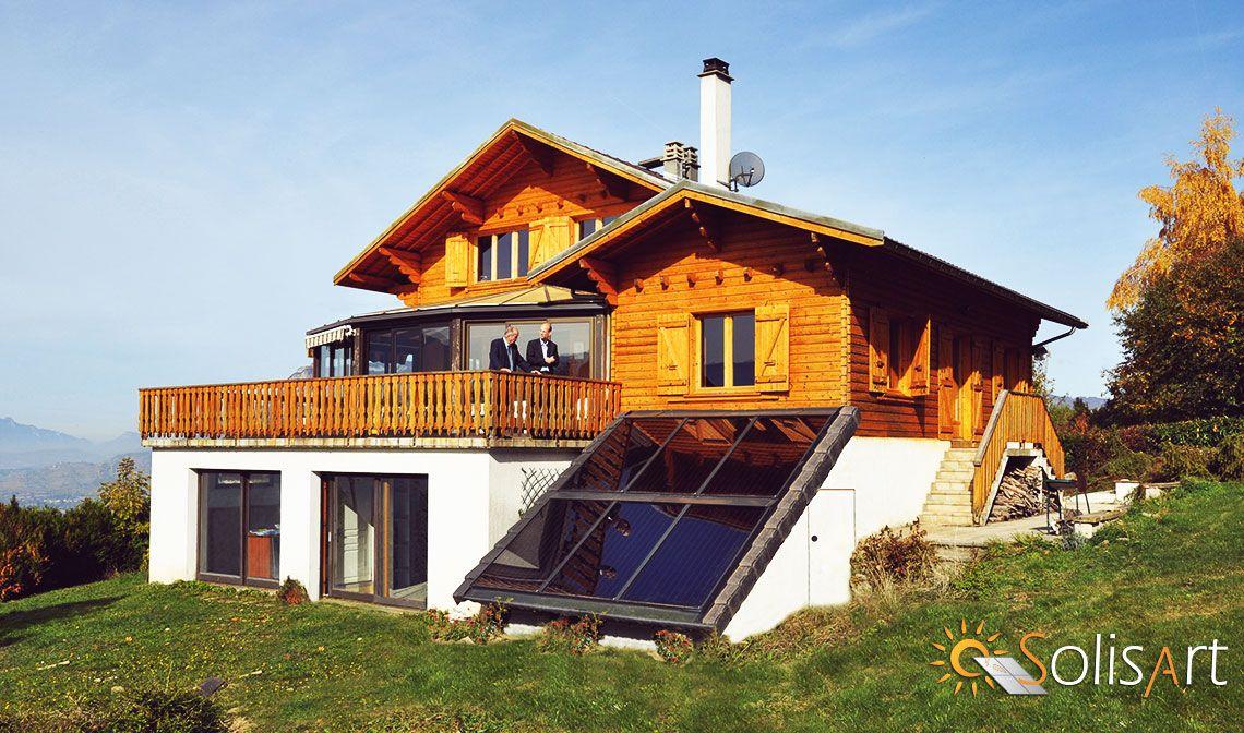 chauffage solaire Auvergne-Rhône-Alpes - Savoie - Villaroux