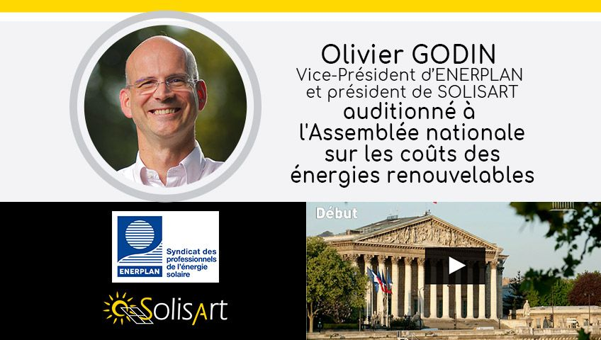 Olivier Godin auditionné à l'assemblée nationale