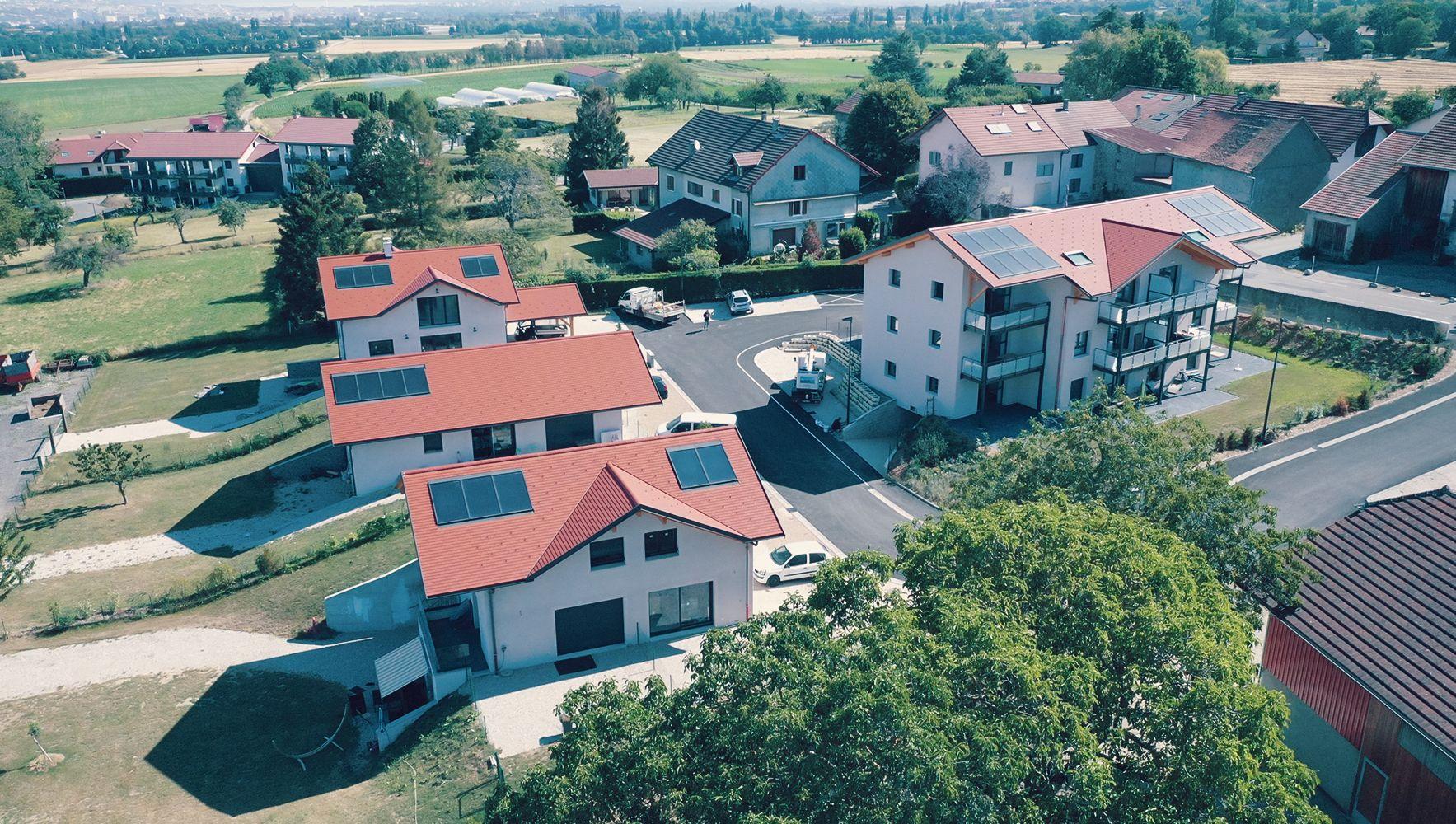 Chauffage solaire SolisArt - Neydens - Haute-Savoie