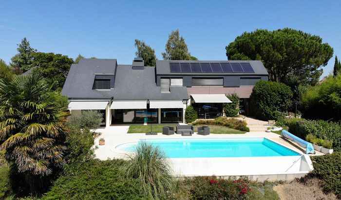 chauffage solaire solisart avec piscine