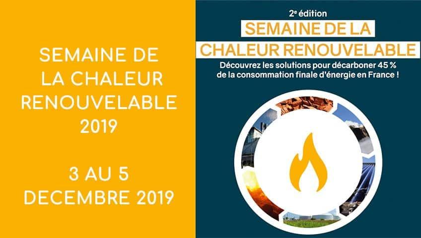 Semaine de la Chaleur Renouvelable 2019