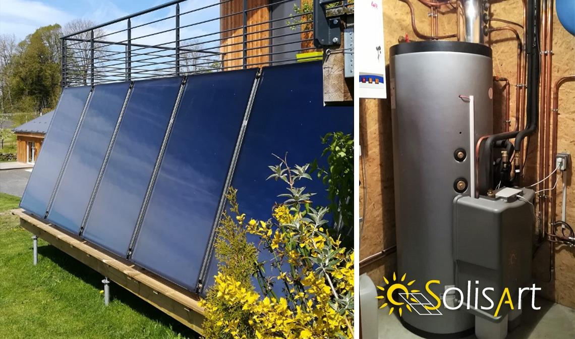 Installation solaire dans le Puy de dôme