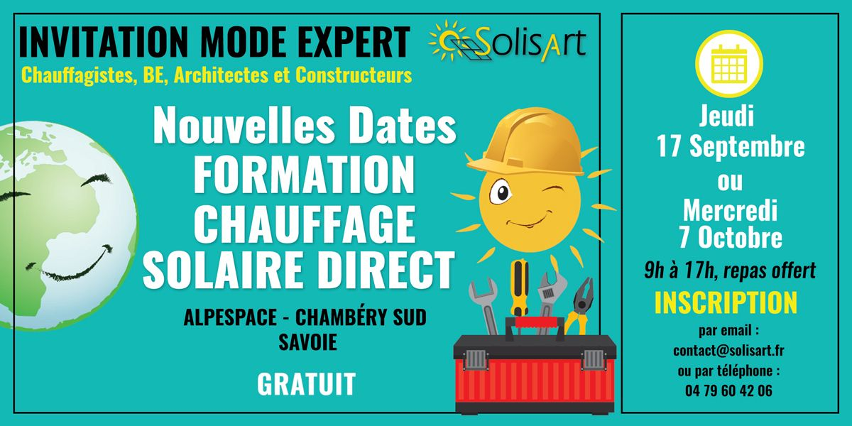 Formation Chauffage Solaire SolisArt