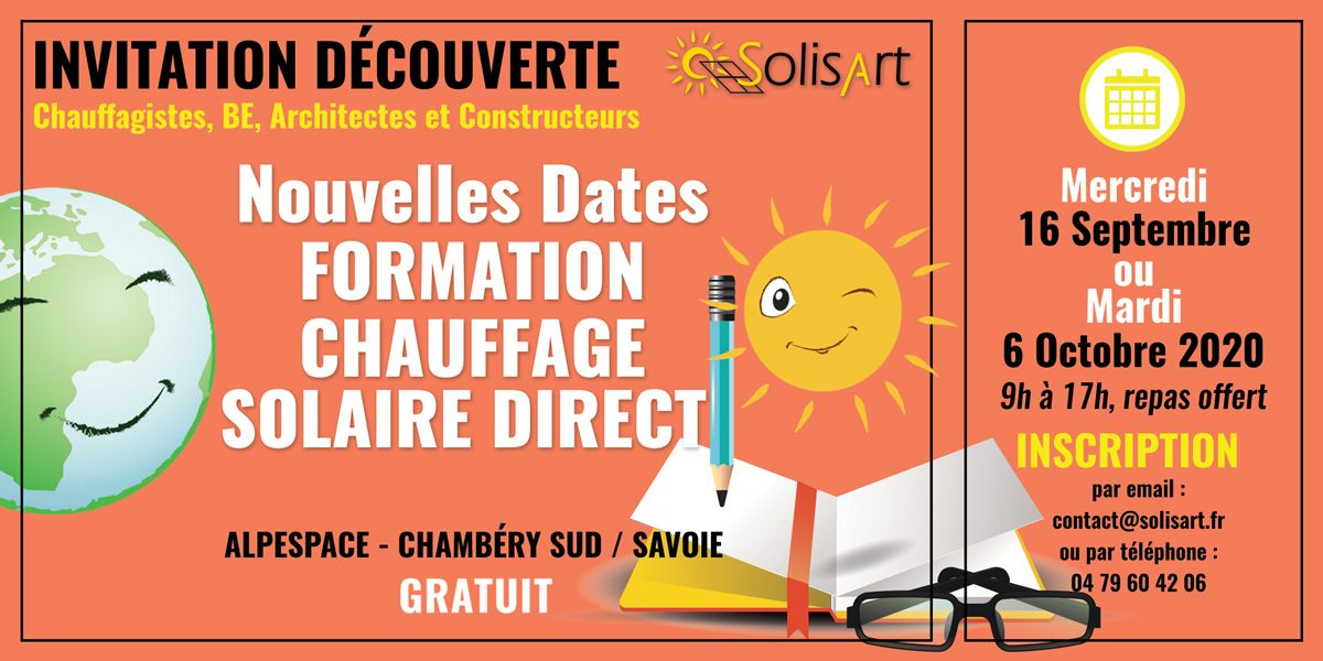 Formation Chauffage Solaire Direct