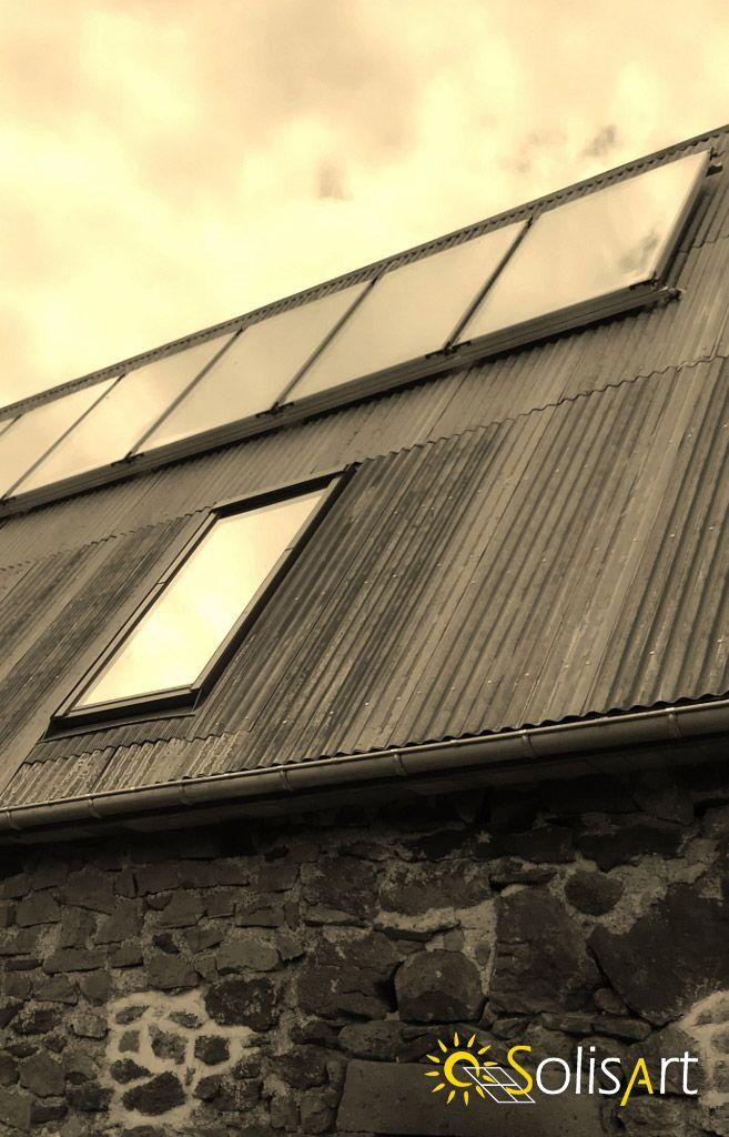 panneaux solaires pour rénovation de fermes