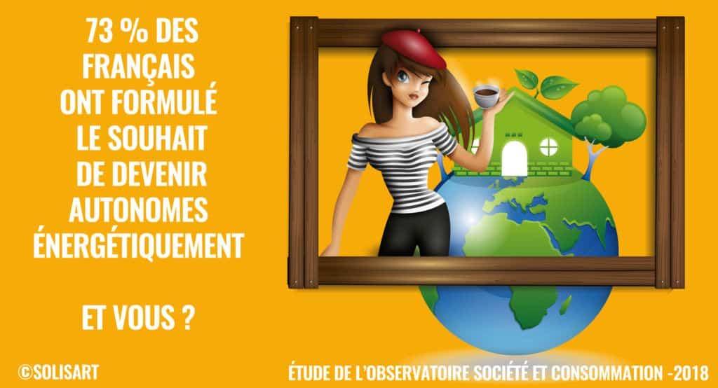 autonome énergétique des français