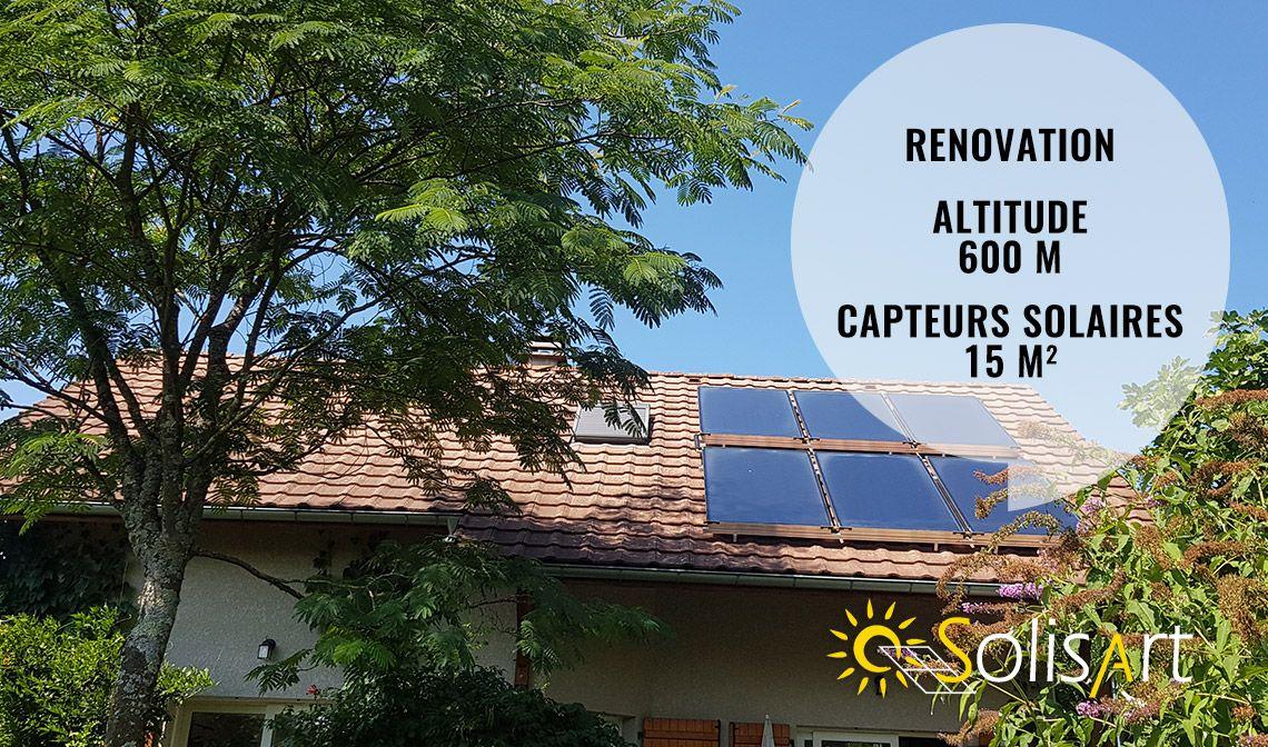 chauffage solaire à Saint Paul sur Yenne