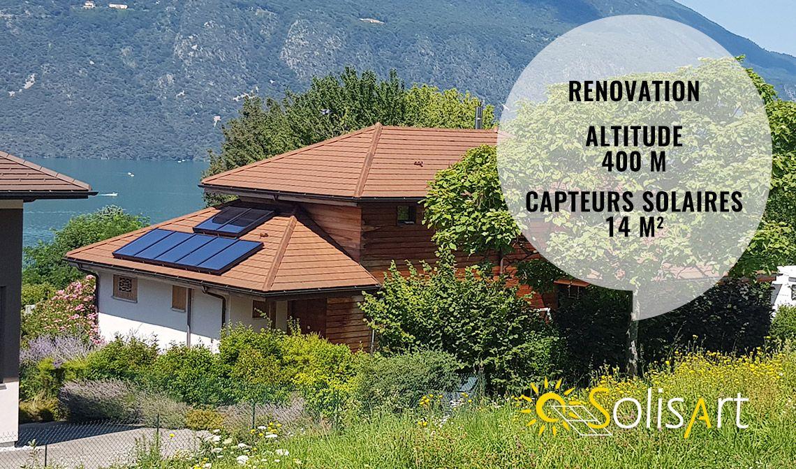 chauffage solaire à tresserve